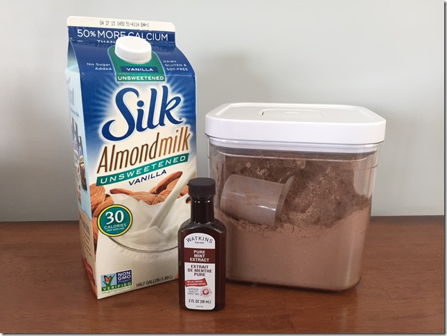 Mint Shake Supplies